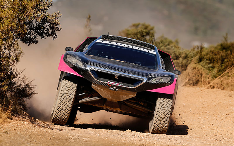 The Peugeot 3008 DKR joins the PH-Sport team!